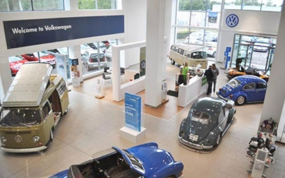 Lancaster Volkswagen Showroom Display